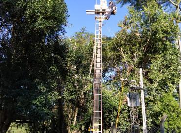 Foz do Chapecó fará manutenção e testes de rotina no sistema de alerta do vertimento