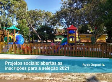 Foz do Chapecó abre inscrições para projetos sociais nos municípios abrangidos pela usina
