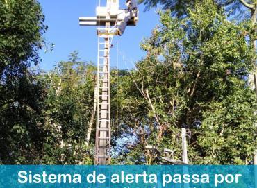 Foz do Chapecó fará manutenção e testes de rotina no sistema de alerta do vertedouro
