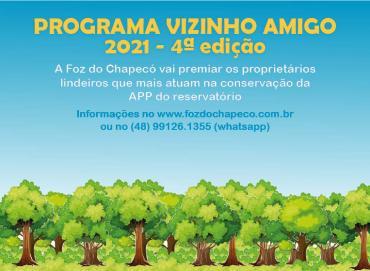 Foz do Chapecó lança nova edição do programa Vizinho Amigo
