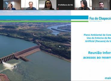 Foz do Chapecó reúne municípios para falar sobre os acessos ao lago da usina