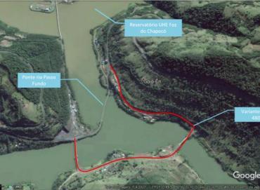 Reforma da ponte sobre o rio Passo Fundo deve começar no próximo ano